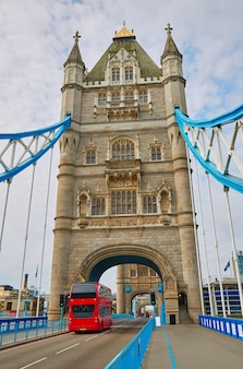 London tower bridge pôr do sol no rio tamisa