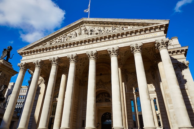 Londres royal troca edifício distrito financeiro