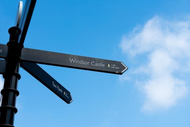 Longa caminhada no castelo de windsor, reino unido, londres no verão