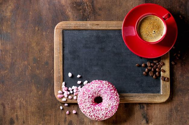 Lousa e café