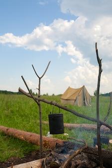 Lugar de acampamento
