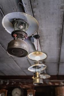 Luminária de teto vintage