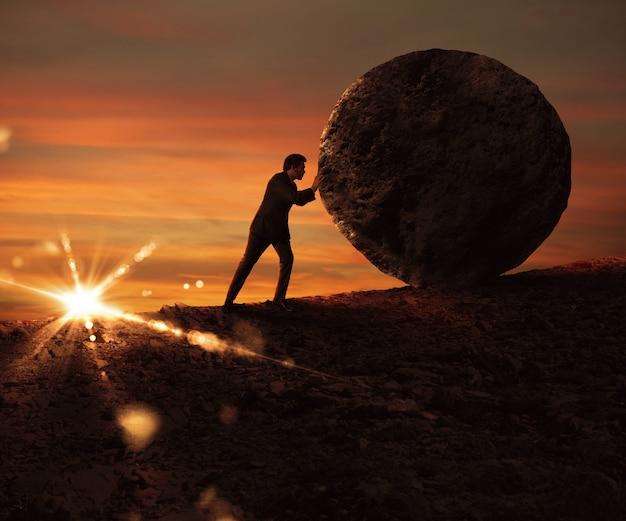 Luta e determinação