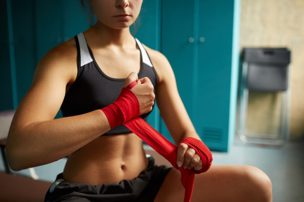 Lutador feminino