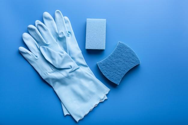 Luva de esponja para uso doméstico