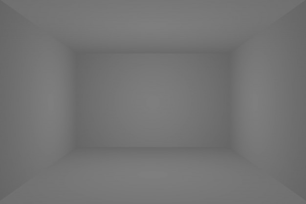 Luxo abstrato blur gradiente cinza e preto escuro, parede do estúdio de fundo