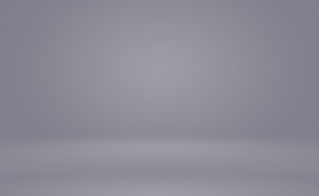 Luxo abstrato desfocar gradiente cinza escuro e preto, usado como parede de estúdio de fundo para exibir seus produtos. plano de fundo liso do estúdio.