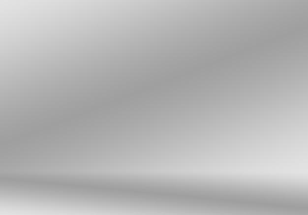 Luxo abstrato desfocar gradiente cinza escuro e preto, usado como parede de estúdio de fundo para exibir seus produtos.