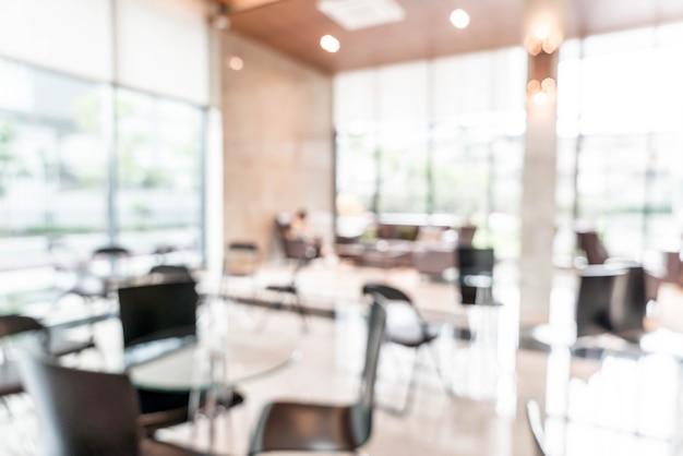 Luxo bonito abstrato blur interior do hotel