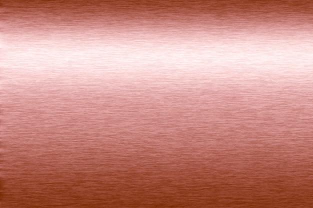 Luxo brilhante em ouro rosa polido