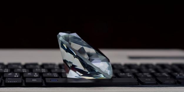 Luxo de diamante para joias