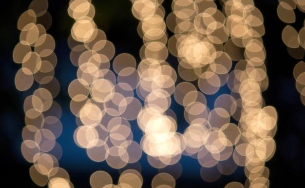 Luz abstrata bokeh de fundo