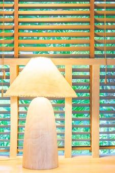 Luz da lâmpada decoração quarto interior