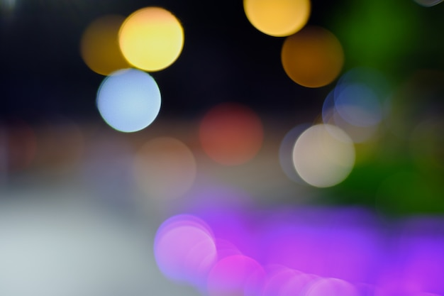 Luz da noite turva para fundos
