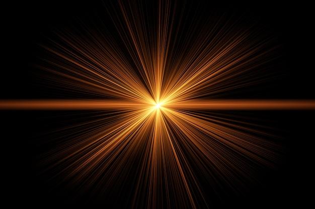 Luz de fundo abstrato flare