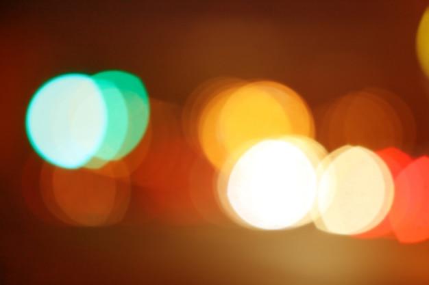 Luz de fundo bokeh