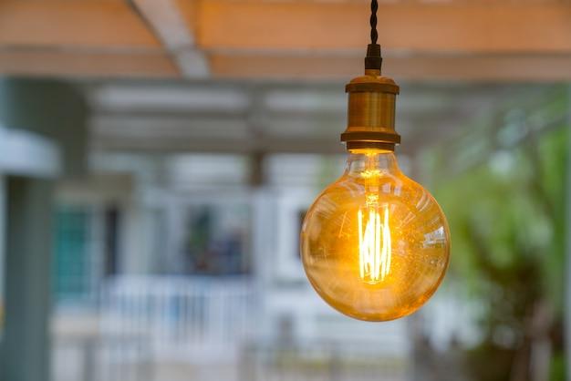 Luz de ideia cintilante