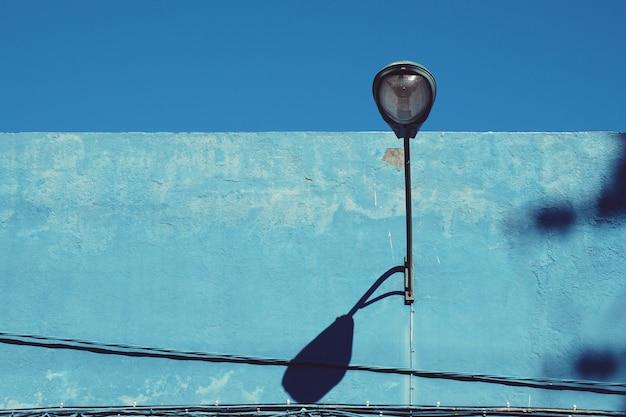 Luz de rua na rua