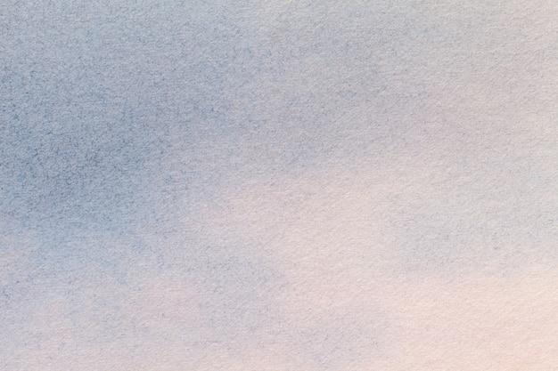 Luz do fundo da arte abstrato - cores azuis e brancas. pintura em aquarela sobre tela.