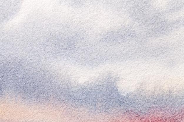 Luz do fundo da arte abstrato - cores azuis e brancas.