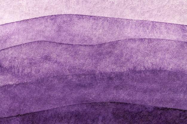 Luz do fundo da arte abstrato - cores roxas e lilás. pintura em aquarela sobre tela.