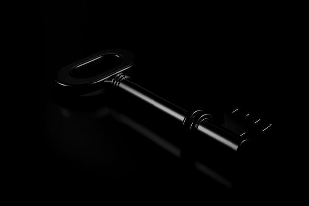 Luz e sombra da chave