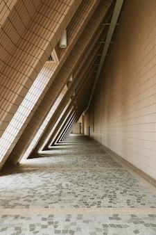 Luz e sombra do centro cultural de hong kong