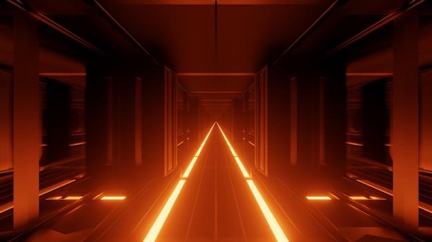 Luz no chão