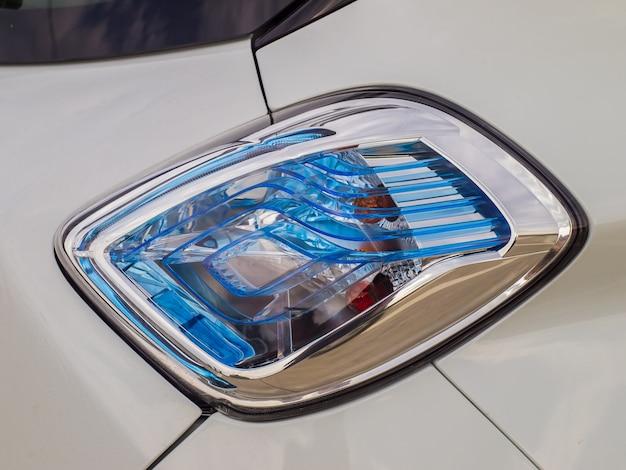 Luz traseira do carro elétrico