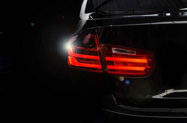 Luz traseira do carro