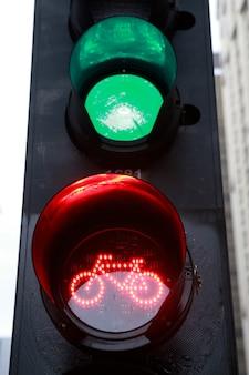 Luz vermelha para bicicleta