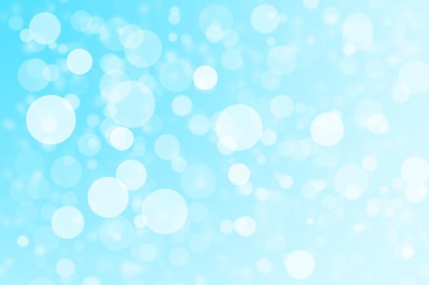 Luzes abstratas azuis e brancas