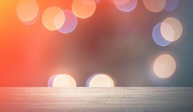 Luzes abstratas desfocadas para o fundo