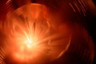 Luzes abstratas girando