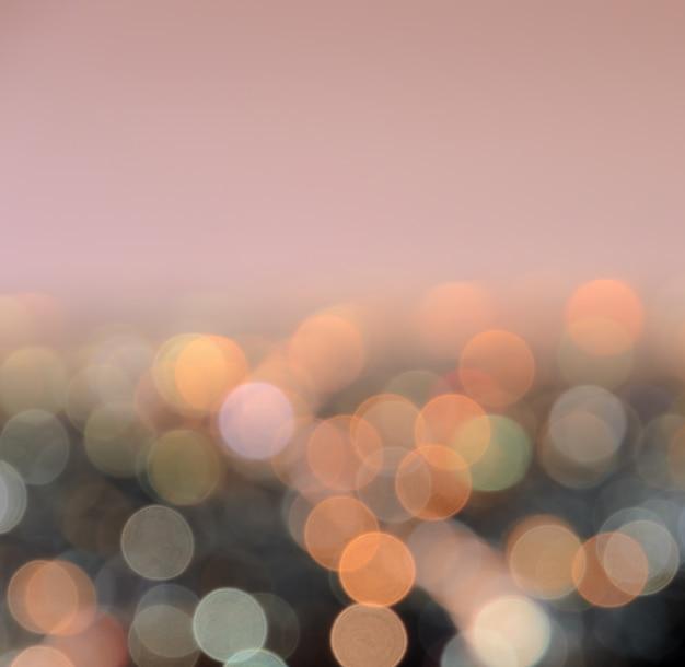 Luzes da cidade bokeh turva abstraem base