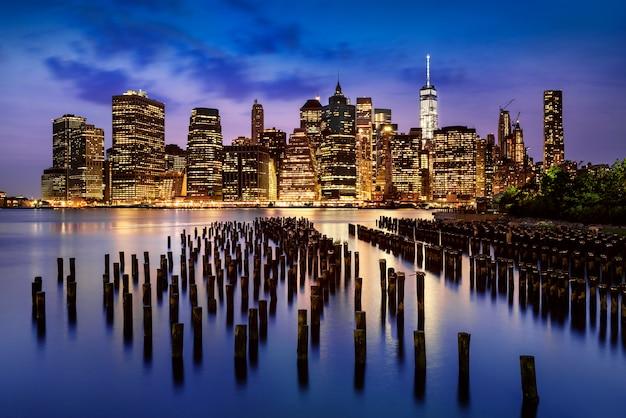 Luzes da cidade de nova york