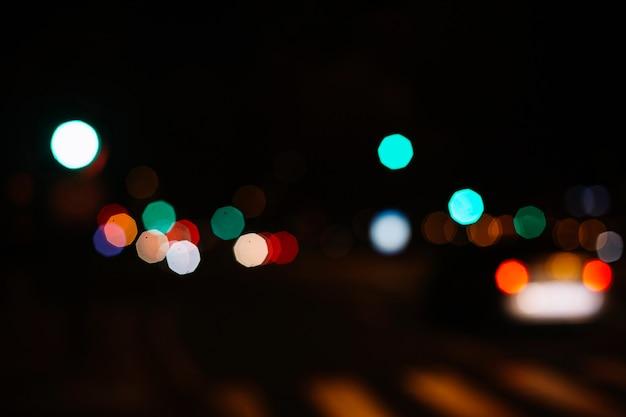 Luzes da cidade distante