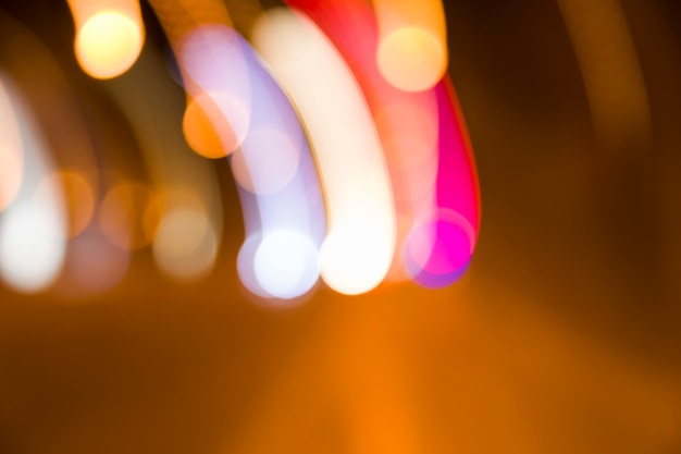 Luzes da cidade turva