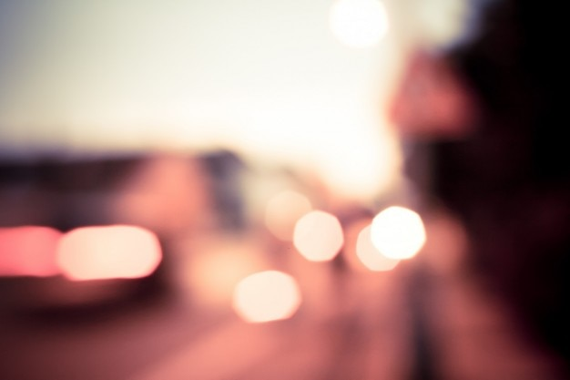 Luzes da noite coloridos