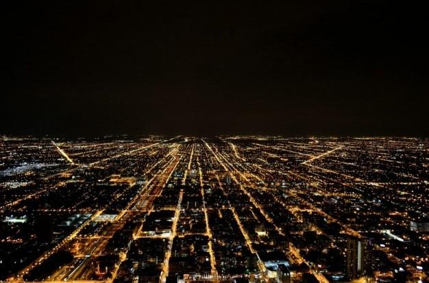 Luzes da noite da cidade