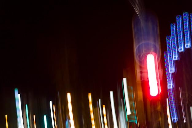Luzes da noite turva