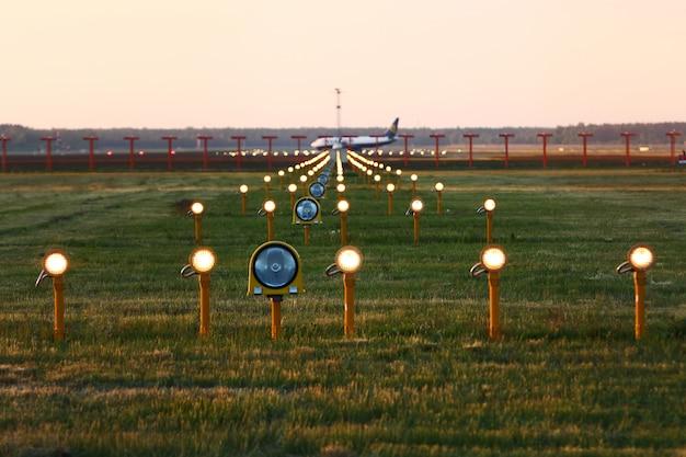 Luzes de aterrissagem