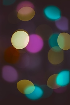 Luzes de bokeh. fundo de natal bonito.