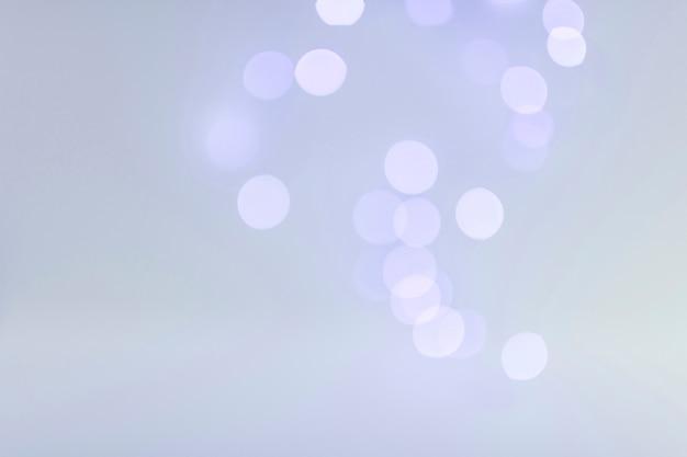 Luzes de bokeh no azul
