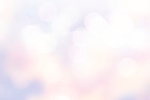 Luzes de bokeh rosa pastel