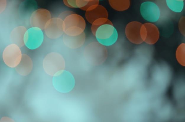 Luzes de brilho vintage desfocado