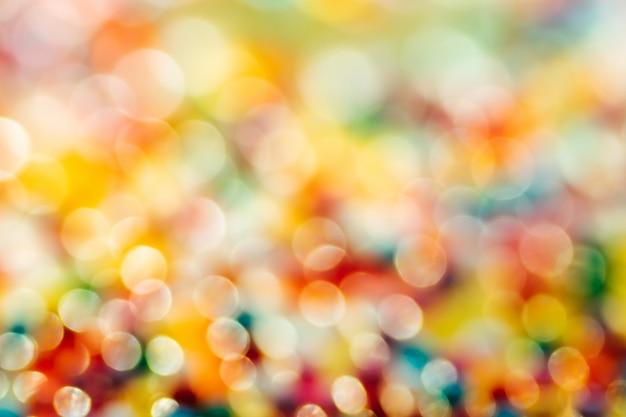 Luzes de cor multi defocused borradas