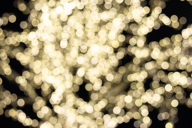 Luzes de fundo de bokeh abstrato