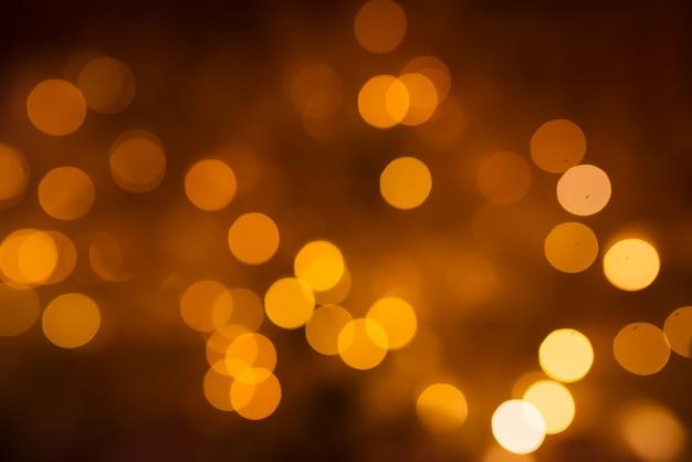 Luzes de natal bokeh.