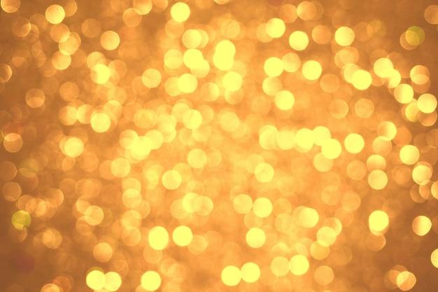Luzes de natal com fundo brilhante bokeh textura abstrata